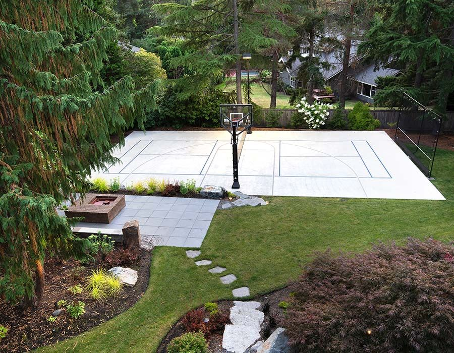 Fire Pit/Sports Court
