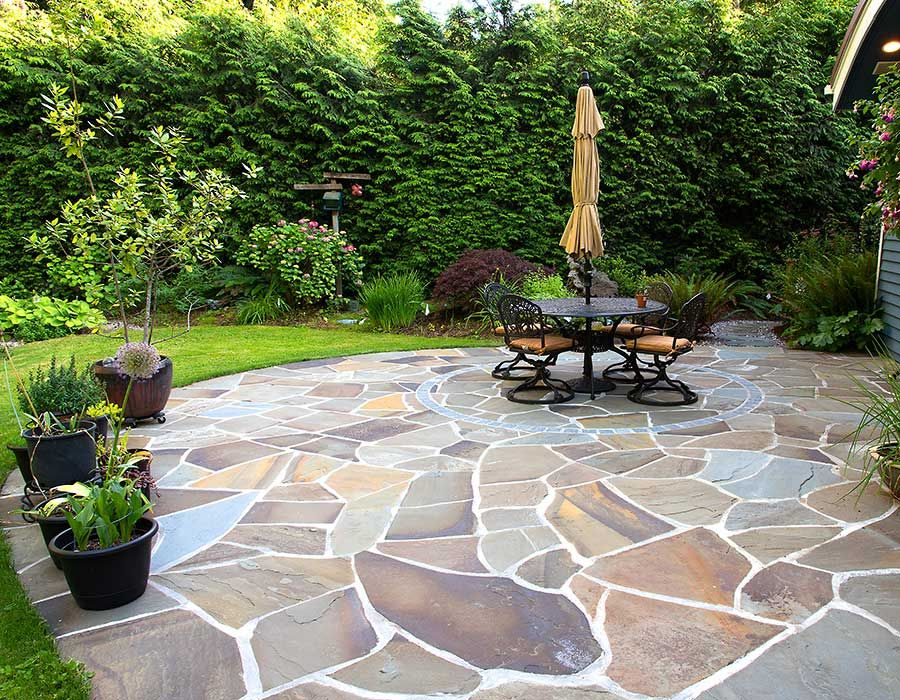 Stunning Patio Mosaic