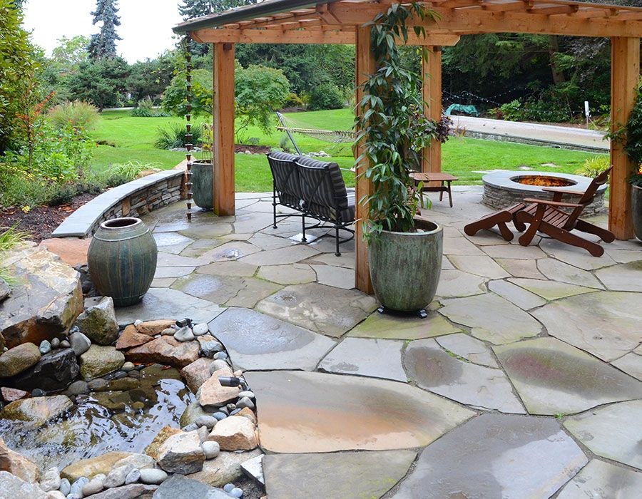 Firepit Patio - After