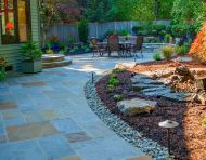 Dimensional Flagstone Walk
