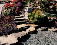 Stone Step Hillside Access