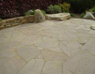 Random Flagstone Patio