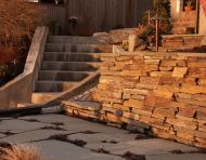 Dry Stack Ledgestone Wall
