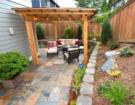 California Gold Stone Patio