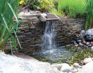 Retaining Wall Waterfall