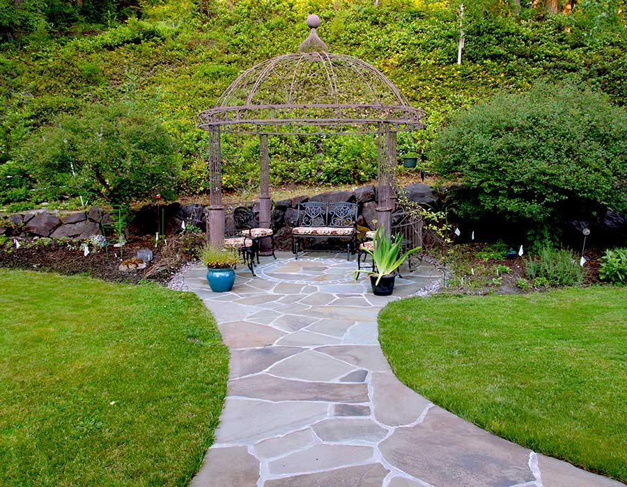 Gazebo Patio Outcrop