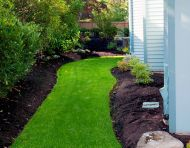 Side-yard Grass Path